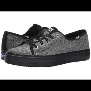 Keds double up black and gray sneaker